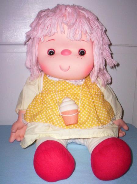 80s Toy Dolls : Ice cream doll