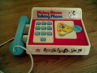 36ec53b2ac806f Just found my Mickey Mouse talking phone in a box, in perfect, working  condition!